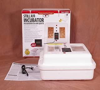 Little Giant Still-Air Incubator, Holds 41 Large Chicken Eggs Or 120 Bantam/Quail Eggs, 9300