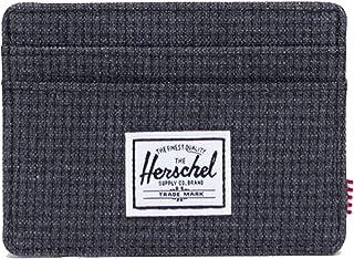 Herschel Men's Charlie RFID, Shadow Grid, One size