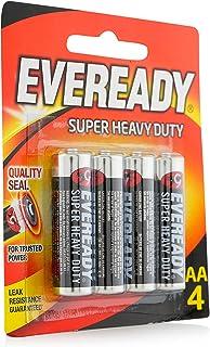Eveready Heavy Duty AAR6 Battery - Pack of 4