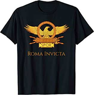 Roma Invicta - Roman Eagle Legion Banner T-Shirt