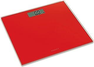 Exzact Bilancia elettronica Corporea/Pesapersone Digitale/Scala elettronica corpo/Bilancia da bagno- Ultra sottile 1,7 cm ...