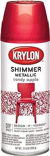 Krylon K03931000 Shimmer Metallic Aerosol Paint, 11.5 oz, 6 1