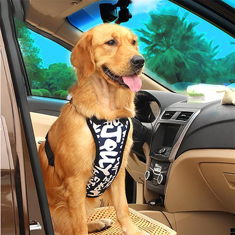 LOHUA Pet Dog car Safety Chest Strap + Pet Dog car seat Belt