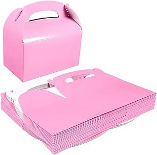 light pink favor boxes