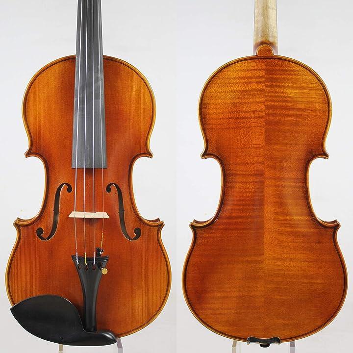 Violino uno strad modello 4/4 di all european wood rich chiaro!znyd german vernice! B0893JGYN4