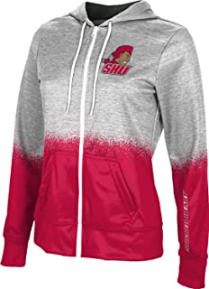 ProSphere Bloomsburg University Girls Zipper Hoodie School Spirit Sweatshirt Marble