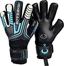negative cut fingersave goalkeeper gloves