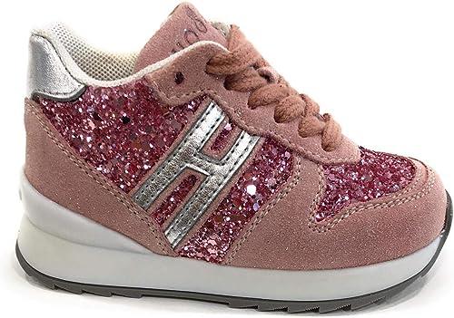 Hogan Sport Bambina HXT4840Y930M9L Rosa Sneaker Inverno 27 ...