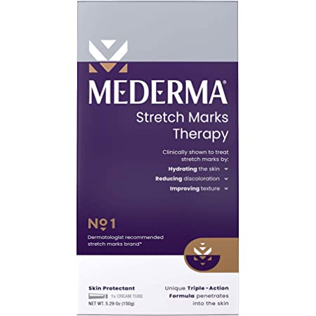 Mederma Mederma Stretch Marks Therapy - Hydrates To Help Prevent Stretch Marks, 5.29 Ounce, Ivory, 150 grams