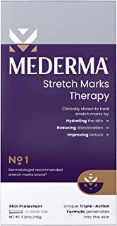 Mederma Stretch Marks Therapy - Help Prevent and treat Stretch Marks - #1 Doctor & Pharmacist Recommended Brand of Scar Tr...