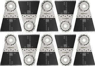 Fein 63502127290 Precision Oscillating Blade (10 Pack), 2-9/16 x 2
