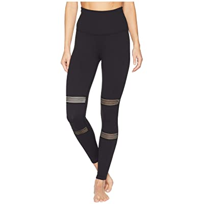 Beyond Yoga Mirage High-Waisted Midi Leggings (Jet Black) Women