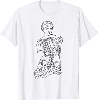 Venus Skeleton T-Shirt Vaporwave Aesthetic Soft Grunge Tee