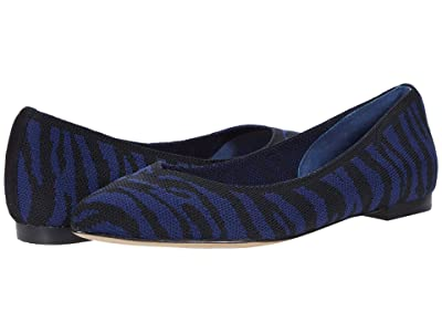 CC Corso Como Julia Knit Flat (Peacoat/Black) Women