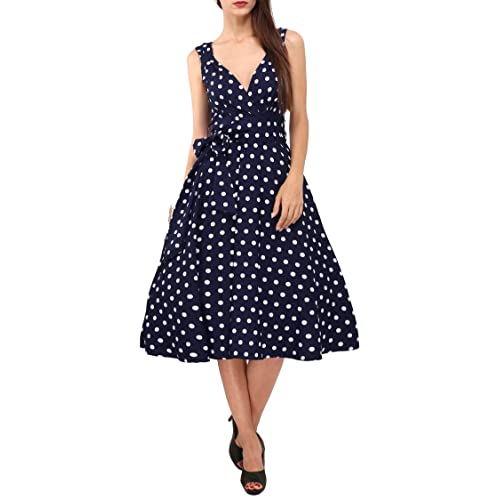 8c590feac5f Women s Dress 40s 50s Swing Style Vintage Rockabilly Ladies Retro Prom Party  Plus Size Dresses