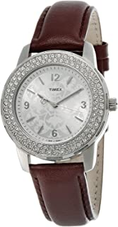 Timex Dress Watch For Women Analog Leather - T2N152