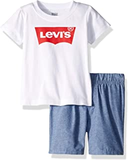 Baby Boys' Graphic T-Shirt and Shorts 2-Piece Outfit Set