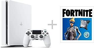 PlayStation 4 グレイシャー・ホワイト 500GB  フォートナイト ネオヴァーサバンドル (CUH-2200AB02) 【特典】オリジナルカスタムテーマ (配信)