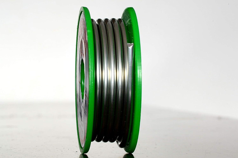 L/ötzinn mit Flussmittel//Durchmesser 2mm 2mm 100g Spule//L/ötzinn bleifrei//deutscher Anbieter