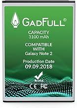 GadFull Batteria compatibile con Samsung Galaxy Note 2 | 2018 Data di produzione | Corrisponde al EB595675LU originale| Compatibile con GT-N7100 | GT-N7105| batteria per il tuo smartphone