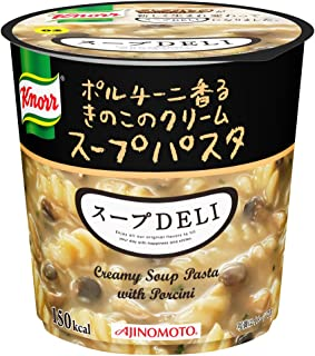 Ajinomoto Knorr soup DELI porcini scented cream soup pasta 37.8g ~ 6 pieces of mushroom