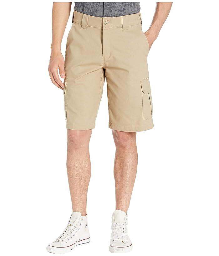 Dickies 11 Cargo Work Active Waist Shorts Regular Fit (Desert Sand) Men