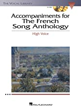 The French Song Anthology - Accompaniment CDs - The Vocal Library High Voice