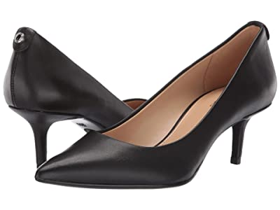MICHAEL Michael Kors MK-Flex Kitten Pump (Black Vachetta) Women