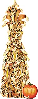 TCDesignerProducts Giant Corn Shock Cutout, Thanksgiving Decorations, 5 Feet Tall