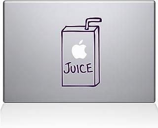"The Decal Guru 1008-MAC-15X-LAV Apple Juice Vinyl Sticker, 15"" Macbook Pro (2016 & newer), Purple"