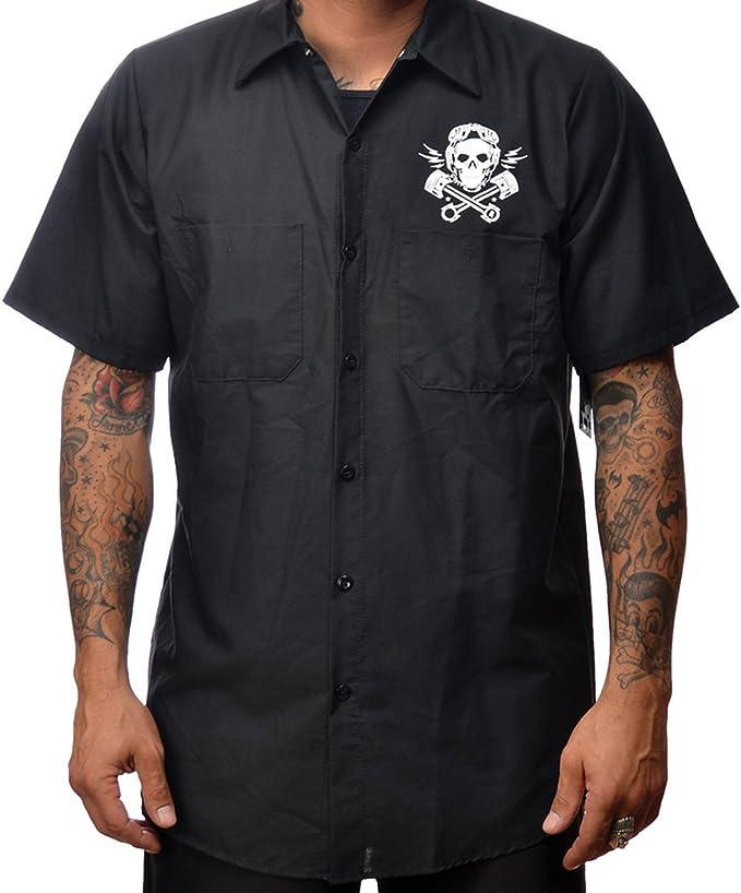 Steady Clothing - Camisa de trabajo para hombre, diseño de ...