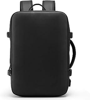 SUNOGE リュック ビジネスリュック バックパック リュックサック 大容量 防水 3way USB 充電ポート マチ拡張 盗難防止 15.6インチ PC リュックザック 多機能 撥水加工 耐衝撃 人気 通勤 出張 旅行 通学 メンズ おしゃれ 黒
