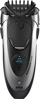 Braun MG5090 Men's Electric Shaver / Styler / Trimmer, 3-in-1 Ultimate Hair Clipper, Wet & Dry