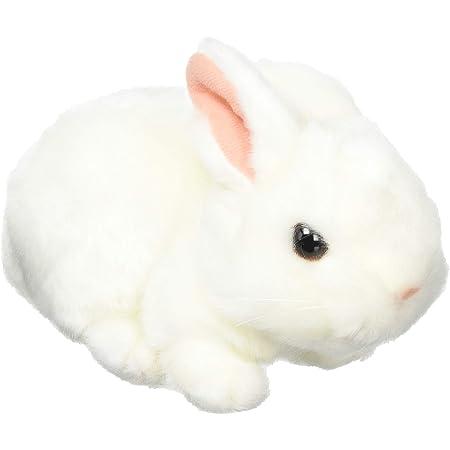 りくのなかまたち ぬいぐるみ ウサギ ホワイト 180497