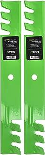 8TEN LawnRAZOR Mower Blade Replaces Scag 482878 A48108 48108 481707 481711 48185 482462 Exmark 1-633482 Mulching 2 Pack