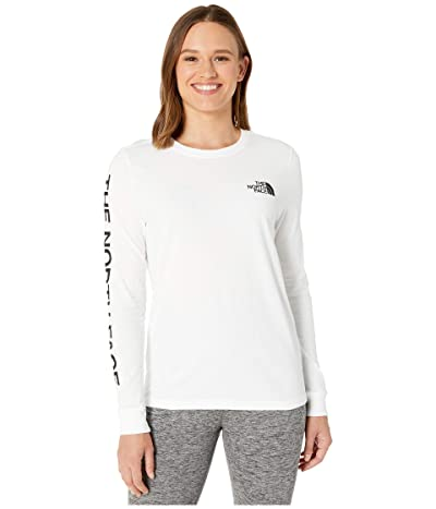 The North Face Long Sleeve Brand Proud Tee (TNF White) Women