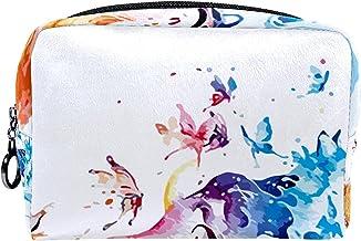 Cosmetische tas make-up tas reizen cosmetische Pouch Clutch portemonnee toilettas, aquarel vos
