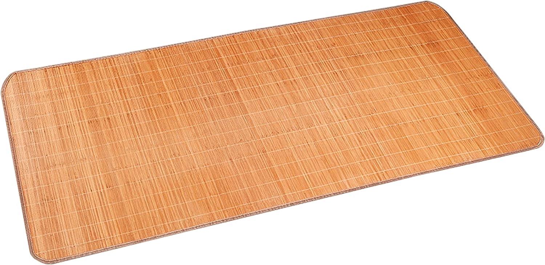 HUAZIYU Bamboo Summer Sleeping Mat Tucson Mall Mattress 67% OFF of fixed price Cooling Topper Summe
