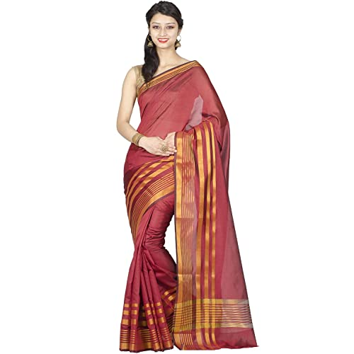 1073 Chandrakala Womens Art Silk Indian Ethnic Banarasi Saree with Unstitched Blouse Piece