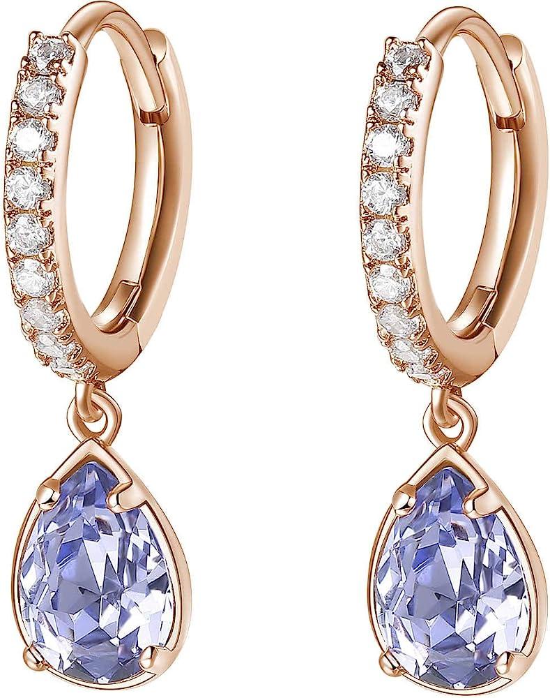 Brosway affinity orecchini per donna in ottone rodiato galvanica oro rosa  e zirconi BFF140