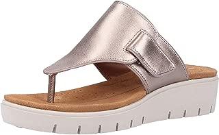 Clarks Women's Un Karely Sea Leather Fashion Sandals