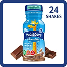 PediaSure Grow & Gain Kids' Nutritional Shake, with Protein, DHA, and Vitamins..