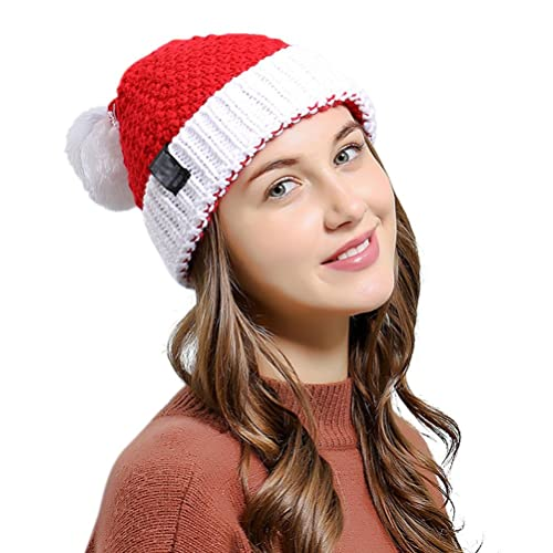 3681706ed2fb23 HINDAWI Womens Beanie Winter Hat Scarf Set Slouchy Warm Snow Knit Skull Cap