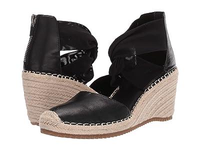 Eileen Fisher Wallis (Black Tumbled Leather) Women