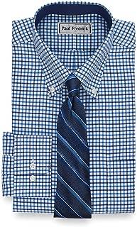 Men's Classic Fit Impeccable Non-Iron Cotton Check Dress...