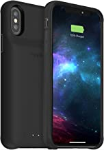 mophie 401002827 Juice Pack Access - Ultra-Slim Wireless Battery Case - Made for Apple iPhone Xs/iPhone X (2,000mAh) - Black