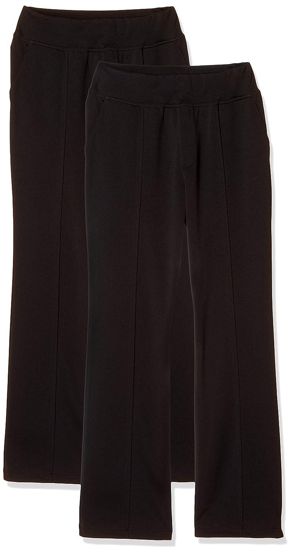 [ベルーナ] 国産 フォーマル対応 ラク伸び パンツ 2本組 股下 70cm 日本製 喪服 礼服 レディース 121192