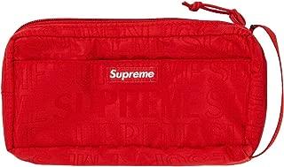Supreme Organizer Pouch Bag Red SS19 Brand New 100% Authentic Real SUPREMENEWYORK Rare Designer