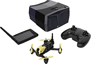 HUBSAN X4 H122D Storm Pro Version Racing FPV Drone with 360°Flips & Rolls 720P HD Camera Quadcopter with HS001 LCD Display Screen HS002 Goggles