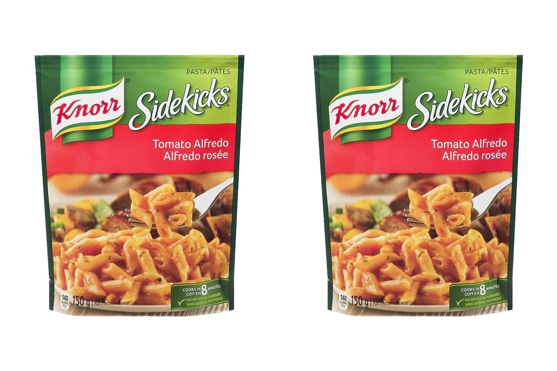 Knorr Sidekicks Pasta, Tomato Alfredo Side Dishes, 150g/5.3oz.,